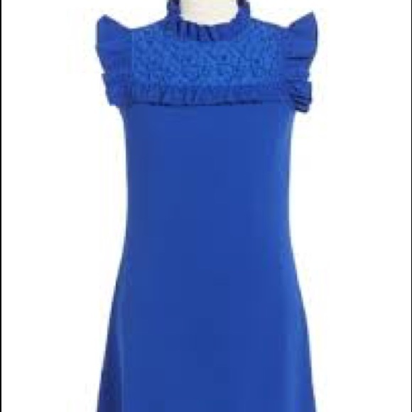 Nickie Lew Other - Love, Nickie Lew flutter sleeve lace yoke dress